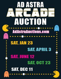 Ad Astra Arcade Auctions 2021