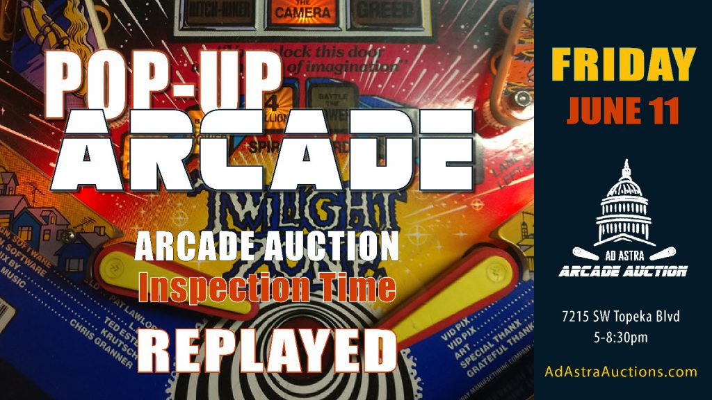 Pop Up Arcade June 11 2021